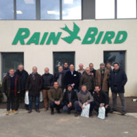 viaggio in Francia alla sede Rain Bird